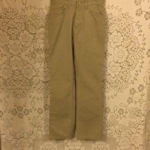 Gap Tan Comfortable bootcut pants Sz 0 NEW W/Tags